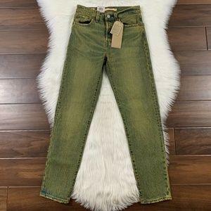 Levi's Grunge Wash Wedgie Fit Denim Jeans